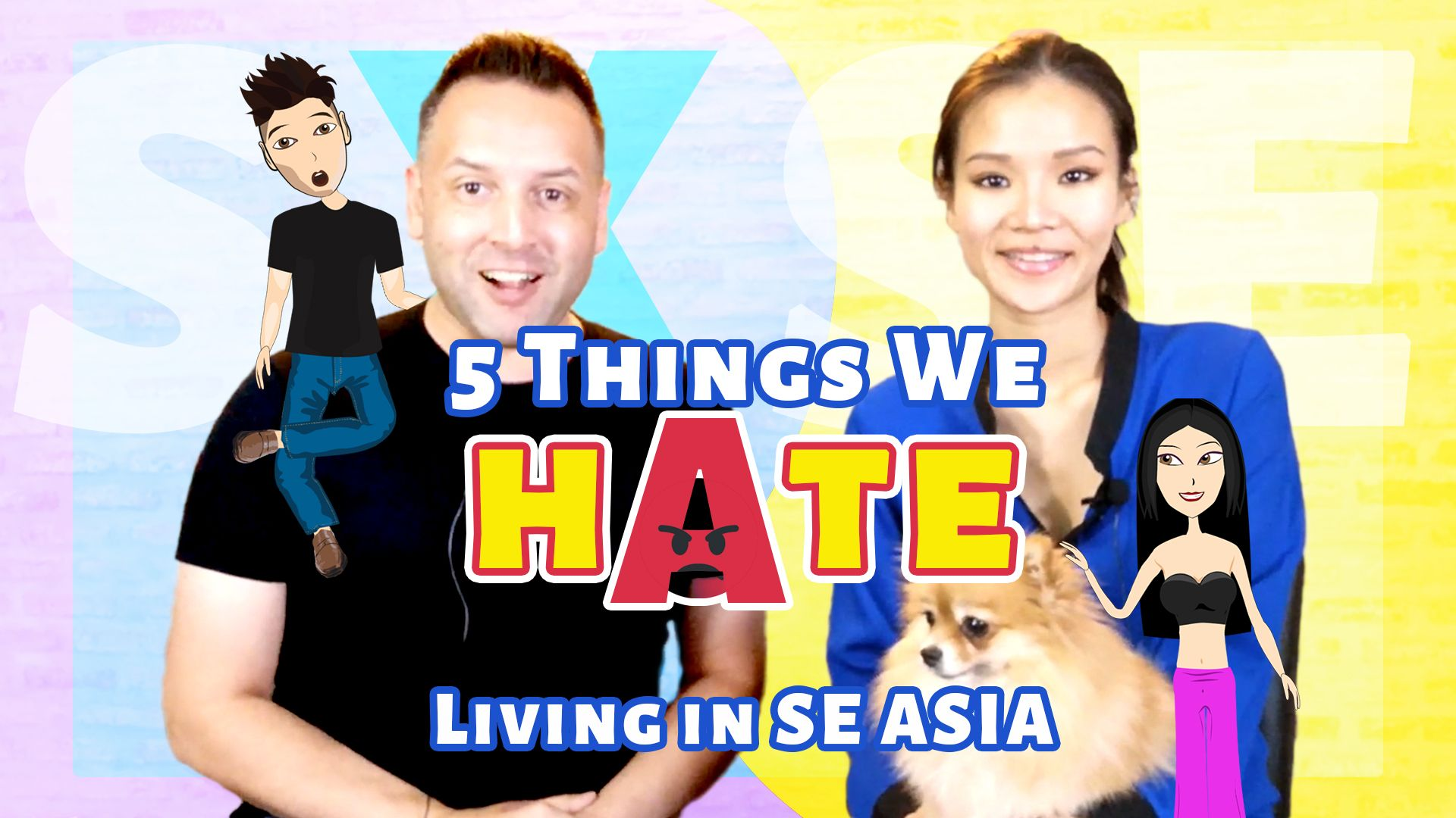 5 Things I H̶a̶t̶e̶ Strongly Dislike About Living in SE Asia