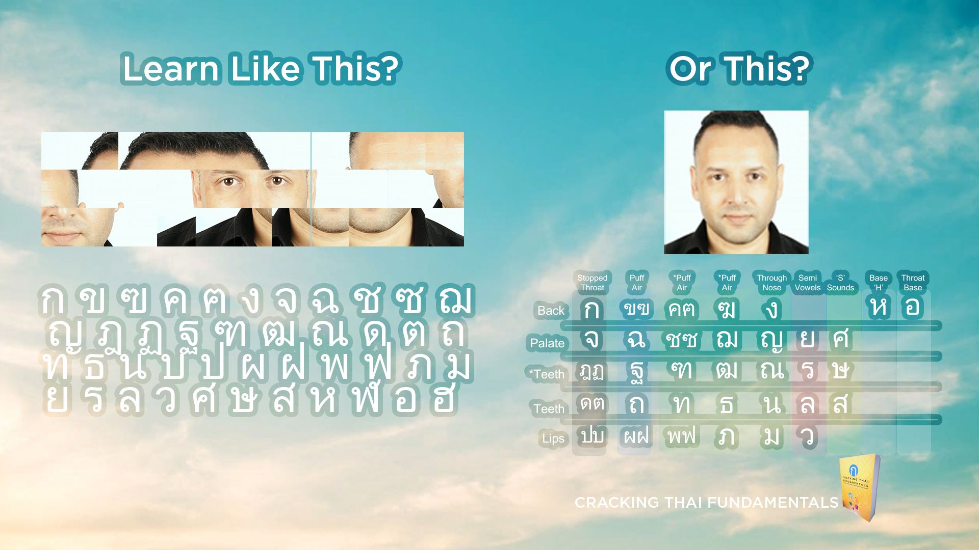 How to Learn the Thai Script